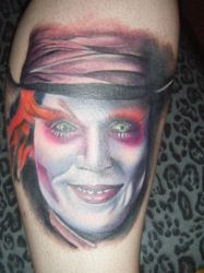 Mad Hatter Tattoo by StephaMartyr