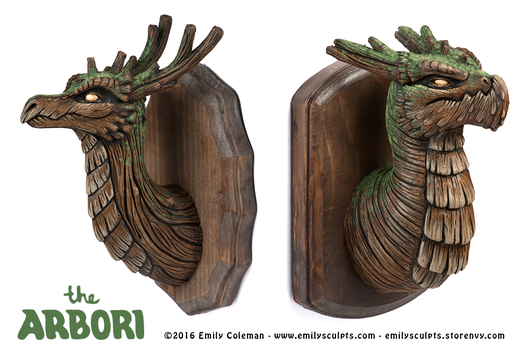 Ancient Woods Arbori Busts by emilySculpts
