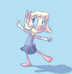 Palette Challenge - Webby 'Sylveon' by DeepestPainter