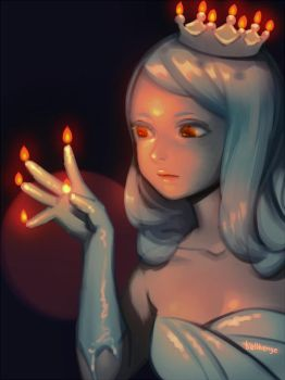 Candle Princess by bellhenge