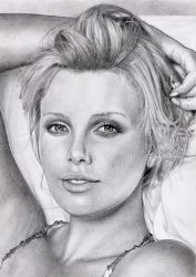 Charlize Theron by Bastiensburg