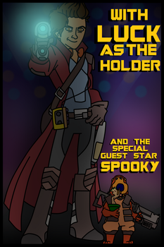 Meet Luck: The Holder of Guardians of the Galaxy by Luck-Lupin