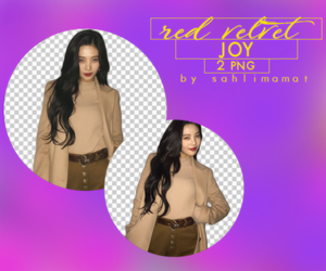 RED VELVET - JOY PNG PACK by sahlimamat
