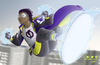 Static Shock by DanielHooker