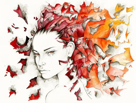 The Fires Find a Home in Me by Shenim