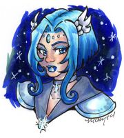 Sailor Alcyone for Tsuzu by nickyflamingo