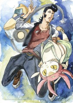 Space Dandy by Sideburn004