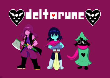 Deltarune by Darkiganv