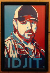 Bobby Idjit Duct Tape Art by DuctTapeDesigns