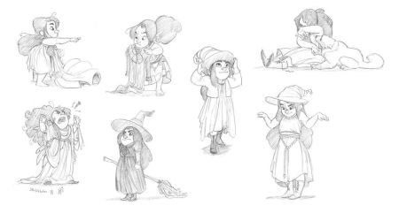 Little Witch project by JustaBlink