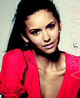 Nina Dobrev Color by inmany