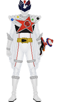 Uchu Sentai Kyuranger, Shishi Red Orion by Taiko554