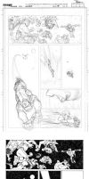 INV88 page 11 pencil to ink process by RyanOttley