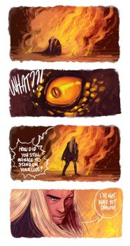 LOTR - Serpent Of The North (part2) by the-evil-legacy