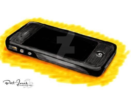 iPhone in mixed Digital Media by tiggermn