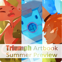 Triumph Artbook Preview by Sonny0029