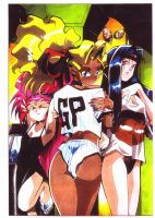 Tenchi Muyo Lingerie Cover 2 by CD007