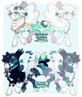 February Pouflon Batch! (closed) by tyronniesaur