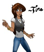 Tina :Colored: by VHCrow