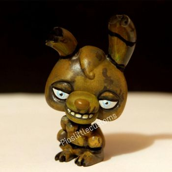 Springtrap from FNAF 3 LPS custom by pia-chu