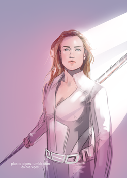 Sara Lance by plastic-pipes