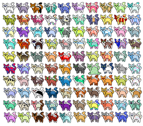100 Cat Adopts!!! (OTA) by CarelessCuriosity