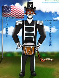 John the Tiger - Cat of Chaos by BlueMario1016