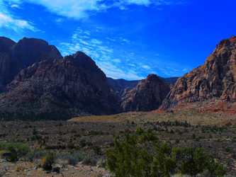 Red Rock Canyon 2018   When Sky Meets Earth by Eternal-Mothra