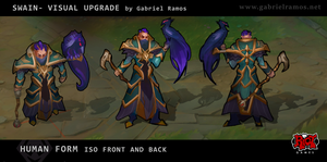 LoL - Swain Visual Upgrade by GabeRamos