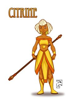 Citrine - Gemsona by PatrickGavin