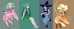 Character Design trades by tritn