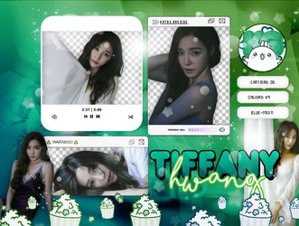 TIFFANY | GIRLS GENERATION | PACK PNG by KoreanGallery