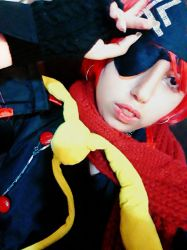 Lavi Bookman Cosplay by saraemo