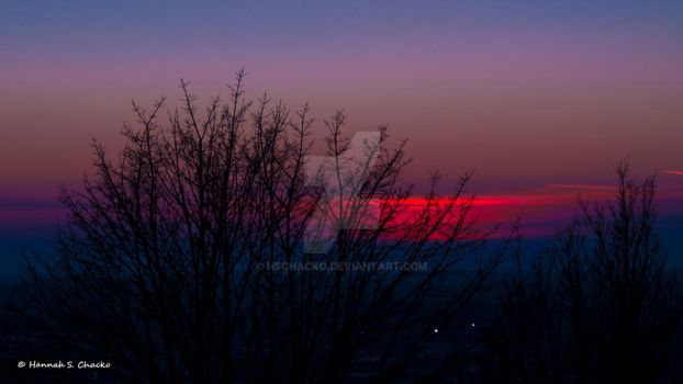Red Sky - cropped by HSChacko