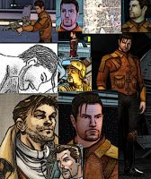 Collage of Carth Onasi by LadyIlona1984
