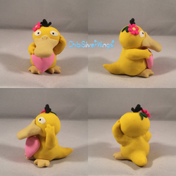 Psyduck Spring Celebration! by ChibiSilverWings