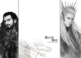 Thorin and Thranduil 1 by aprilis420