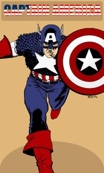 DenbroughMcClane 5 40 Captain America Color By