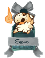 December 6 - Eggnog JR(teaser chibi) by Thalliumfire