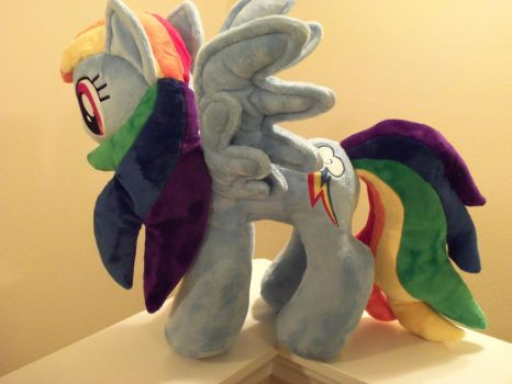 Dashie for Megacon by SweetwaterPony