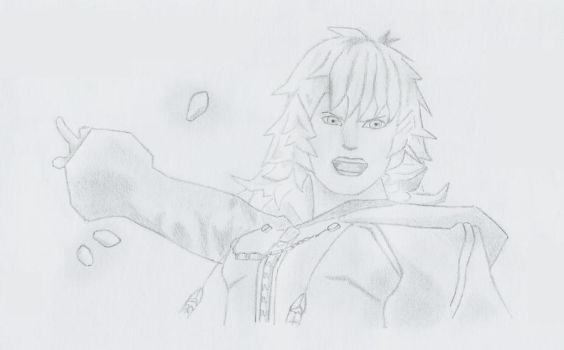 Marluxia the Graceful Assassin ~ by RoxyValentine
