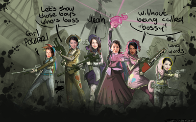 [April Fools 2014] ANITA VERSUS ZOMBIES by TheArtrix