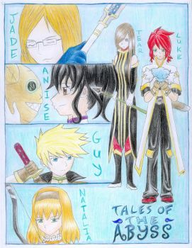Tales of the Abyss Cast, Part1 by ShadowCloak