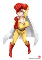 ONE PUNCH [NO] MAN [low res and before fighting] by gao-lukchup