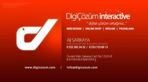 DigiCozum interactive Business Card Work by alisarikaya