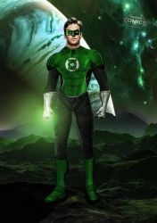 Armie Hammer Green Lantern by SavageComics