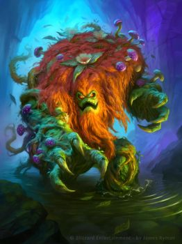 Hearthstone - Ixlid Fungal Lord by namesjames