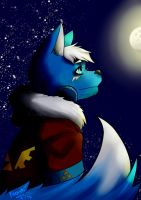 [GIFT] Looking to the Moon by Noshi-Chan