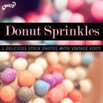 SoftGirly Donut Sprinkle Stock by KeepWaiting
