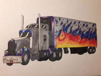 Truck commission  by xXArtOfMoMoXx